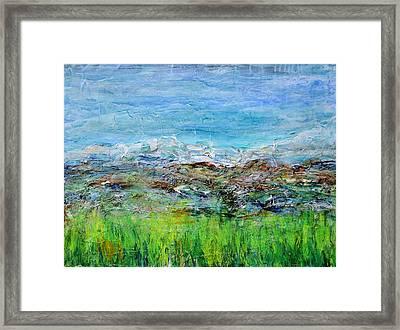 Early Spring Range Framed Print