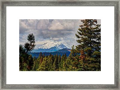 Early Storm Framed Print