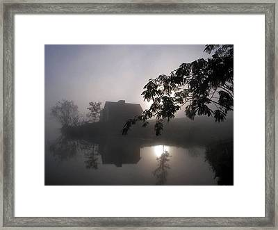 Early Tee Time Framed Print by Don F  Bradford