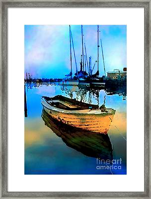 Early Tide Framed Print by Barbara D Richards
