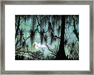 Early To Rise Framed Print by Richard Brooks