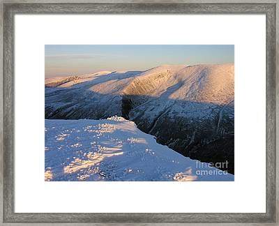 Early Winter Cairngorms Framed Print