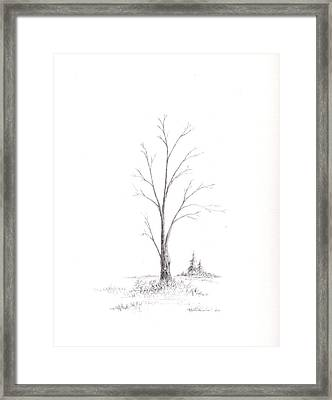 Early Winter Framed Print by Steven Powers SMP
