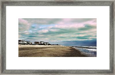 Early Morning Townsends Inlet  Cape May Framed Print by Tom Gari Gallery-Three-Photography