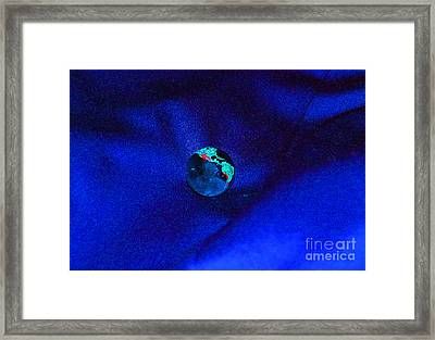 Earth Alone Framed Print by First Star Art