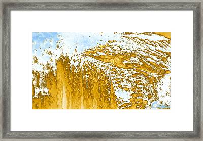 Earth And Space One Hill Framed Print by Feile Case