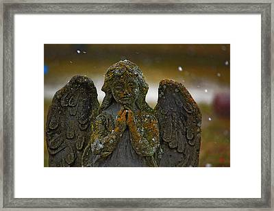 Framed Print featuring the photograph Earth Angel by Rowana Ray