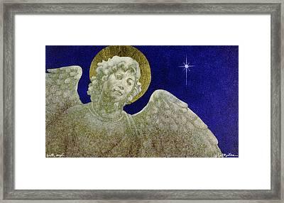 Earth Angel Framed Print by Will Bullas