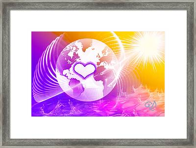 Earth Ascending Framed Print