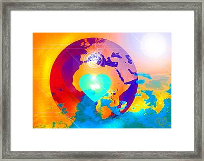 Earth Changes Framed Print