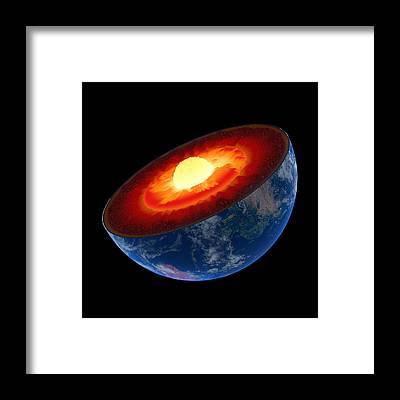 Geological Framed Prints