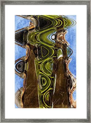 Earth Delight Framed Print by Davina Washington