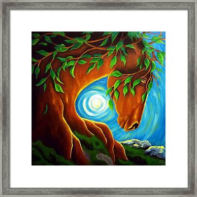Earth Elder Framed Print