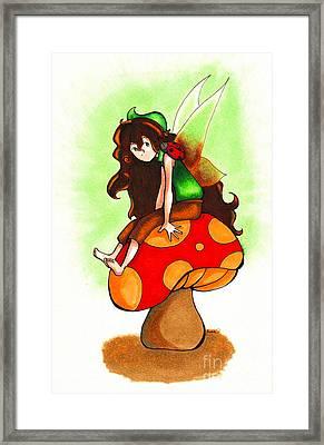 Earth Fairy Framed Print