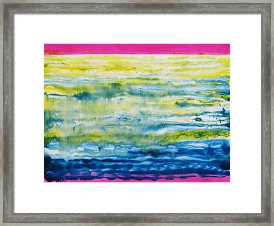 Earth Flow Framed Print by Tom Hefko
