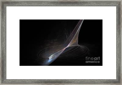 Earth Forming Framed Print by Peter R Nicholls