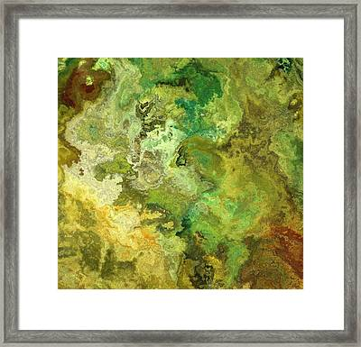 Earth From Above Framed Print by Jury Onyxman