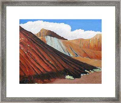 Earth In New Mexico Framed Print by Gary Coleman