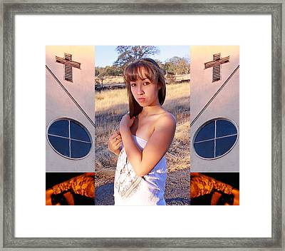 Earth Is A Round Church 2010 Framed Print by James Warren