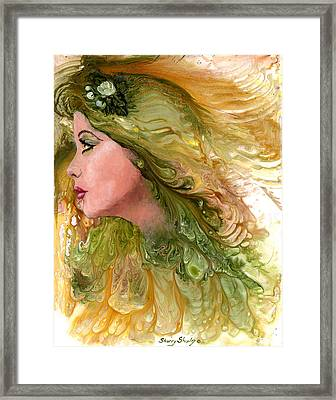 Earth Maiden Framed Print