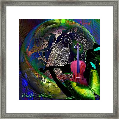 Earth Melody Framed Print