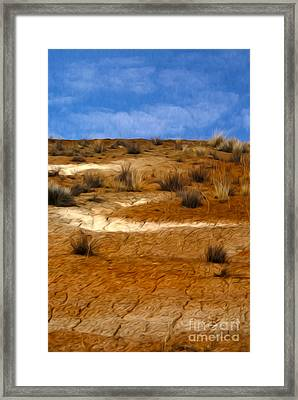 Earth Framed Print by Nur Roy