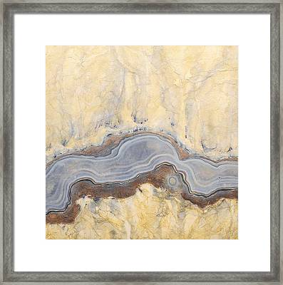 Earth Passage 11 Framed Print by Carlynne Hershberger