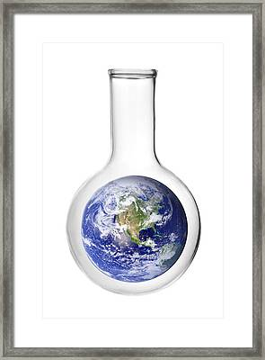 Earth Science Framed Print