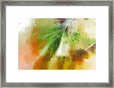 Earth Silk Framed Print