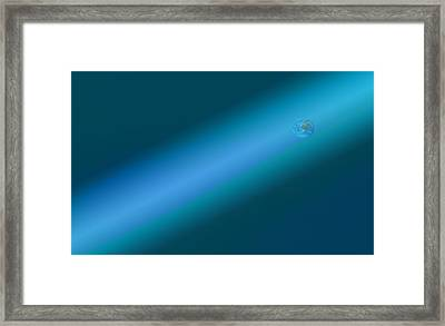 Framed Print featuring the photograph Earth Slide by Kellice Swaggerty