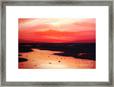Earth Swamp Framed Print