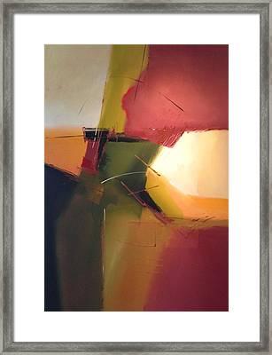 Earth Tones Framed Print by Bob Rankin