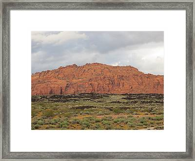 Earth Tones Framed Print by Jean Marie Maggi