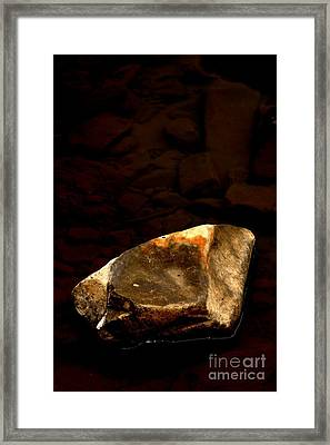 Earth Tones Framed Print by Marcia Lee Jones