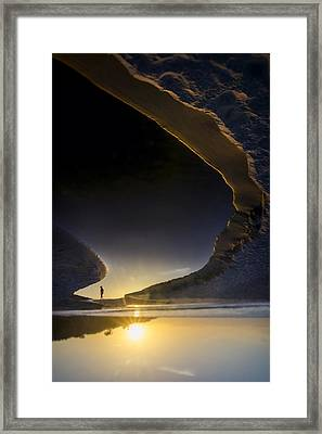 Earth Walker Framed Print by Sean Foster