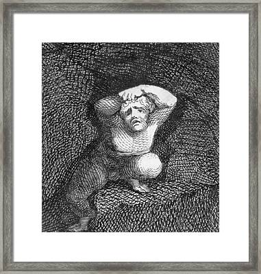 Earth Framed Print by William Blake