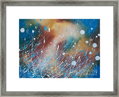 Earth Wind Water And Fire Framed Print