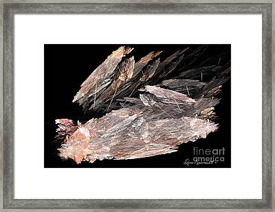 Earthbound Framed Print by Leona Arsenault