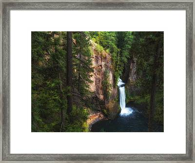 Earthen Tears Framed Print