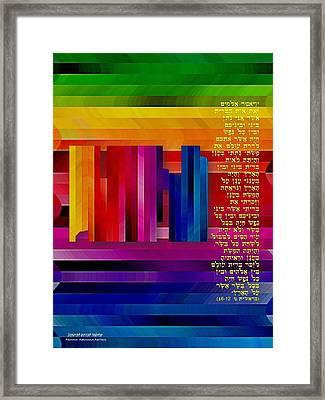 Earth's Atmosphere Framed Print