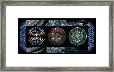 Earth's Beginnings Framed Print by Keiko Katsuta