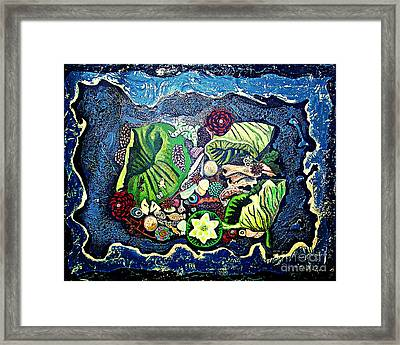 Earths Treasures Framed Print