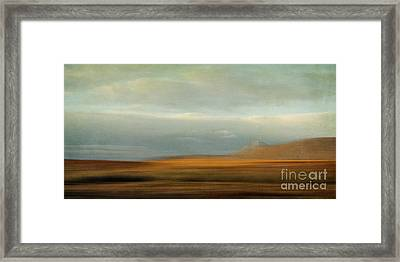 Earthy Tones Framed Print by Priska Wettstein