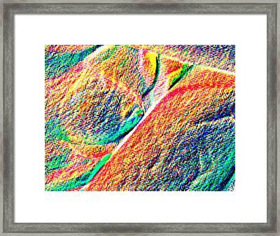 Ease Framed Print