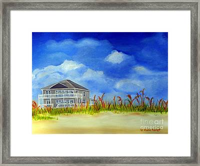 East 2nd Street Framed Print