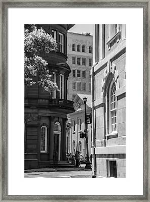 East Bay And Broad From Exchange Framed Print