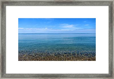 East Bay Framed Print