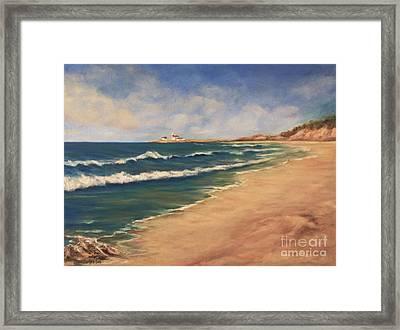 East Beach Watch Hill  Framed Print