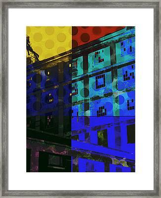 East Central Avenue Framed Print by Ann Powell