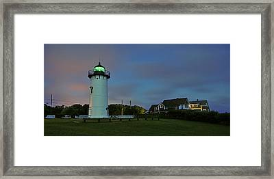 East Chop Light Framed Print